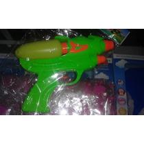 Pistolas De Agua Doble Cañon Juguetes Niños Water Gum