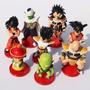 Dragon Ball Z Set X 8 Saga Sayayines Tapa Roja