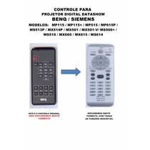 Controle Remoto Projetor Datashow Benq Siemens Mp115 615 501