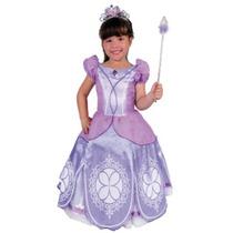 Disfraz Princesita Sofia Bebe Original Carnavalito