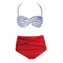 530 Bikini Trajes De Baño Estilo Juvenil Atrevido Vintage