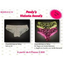 Pantys Victoria Secret Senza Pink Paul Frank