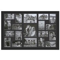 Painel De 19 Fotos, Moldura Preta Ou Branca - Frete Gratis