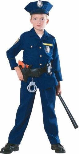 Disfraz De Policía Para Niños Con Accesorios Agente Policía -   1 026376ba1d0