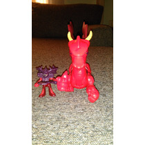 Dragon Rojo Del Castillo Imaginext Fisher Price