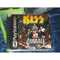 Kiss Pinball En Muy Buen Estado Para Ps1