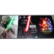 Star Wars Saga Completa Episodios 1 A 7 Dvd