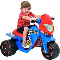 Moto Elétrica Infantil Bandeirante Cross 6v Vermelho