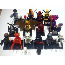 Minifiguras Lego Deadpool Kylo Ren Galactus Red Hood 2016