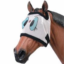 Preciosa Mascara Antimoscas Para Caballo, Importada