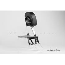 Kit Mirage 250 Sissy Bar+protetor De Motor Com Pedaleira