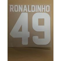 Estampado Queretaro #49 Ronaldinho
