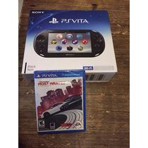 Psvita Sony Playstation Vita Wifi Modelo Nuevo + Juego