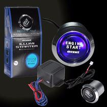 Botão Start/stop Engine Universal Blue /azul