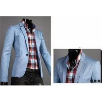 Blazer Masculino Slim Fit 7 Cores - Importa - Frete R$ 45