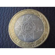 Rusia - Moneda Bimetalica De 10 Rublos, Año 2015 - Excelente