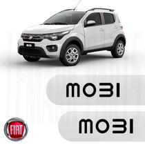 Friso Lateral Fiat Mobi 2017 Branco Banchisa Top