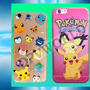 Estuche Iphone 6s 4.7 Pokemon Go Iphone 6s Plus 6 Figuras