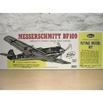 Kit 401 Avion Guillows Messerschmitt Bf-109 Scala:3/4