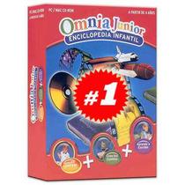 Omnia Junior Enciclopedia Infantil 4 Cds