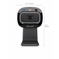 Webcam Microsoft Lifecam Hd-3000- Vídeo De Alta Qualidade Hd