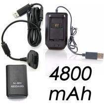 Kit Carga Y Juega 3 En 1 Cable Batería Y Cargador Xbox 360