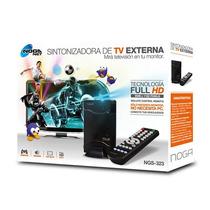 Sintonizadora Tv Externa Noganet Ngs-323 Full Hd 2048x1152