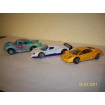 Hot Wheels Majorette Lote De 2 Coches Lamborghini Chevy ´57