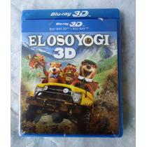 Pelicula El Oso Yogui En Blu-ray 3d, The Bear Yogi 3d