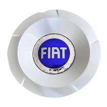 Calota Centro Roda Stilo Abarth Sporting Emblema Fiat Azul