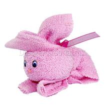 Conejito De Toalla Personalizado Para Recuerdo Baby Shower