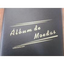 Album Collecione Pequeno Pvc P/ 200 Moedas (argolas)