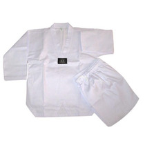 Oferta Musha - Dobok Blanco Champion - Uniforme Tae Kwon Do