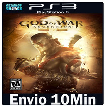 God Of War Ascension [ Psn Ps3 Play3 ]-- Jogo Midia Digi