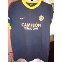 Jersey Camisa Playera America Nike Campeon 2002
