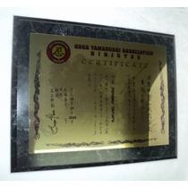 Certificado, Placa, Diploma, Reconocimientos Urgentes