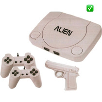 Family Game Alien 1 Completo +2 Joysticks +pistola +juegos !