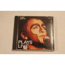 Peter Gabriel Plays Live Disco Numero 2 Edicion Usa