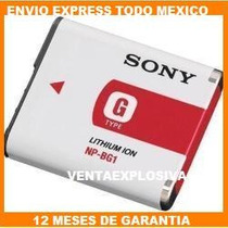Bateria Camaras Sony Recargable Np-bg1 Np-fg1 Npbg1 Dsc-w300