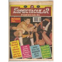 Revistas Espectacular Mundo Lucha Libre Mexicana Años 80s