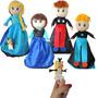 Boneca De Pano - 5 Em 1 - Princesa Do Gelo E Sua Turma