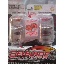 Trompo Beyblade Metal Master 2 Pack Original De Hasbro