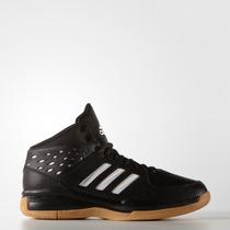 Zapatillas De Básquet Adidas Court Fury Negro/blanco