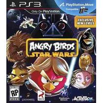 Angry Birds Star Wars Ps3 Mídia Física Novo Lacrado