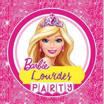 Kit Imprimible Barbie Candy Bar Invitaciones Deco
