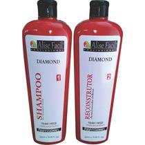 Kit Progressiva Alise Diamond Aminoácidos 500 Ml