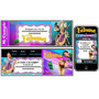 Kit Imprimible Rapunzel: Invitacion, Candy, Banderines,torta