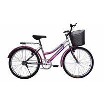 Bicicleta Panther Peregrina Equipada Canasta Parrilla R24