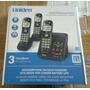 Telefono Inalambrico Uniden D1483-3bk, Contestador,3 Bases