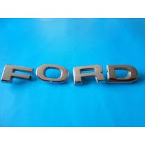 Emblema Ford Camioneta Clasica Letras Cofre 1978 -1986